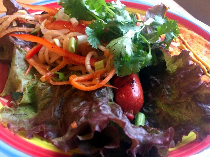 Bahn Mi Hot Dogs Lettuce Wrap