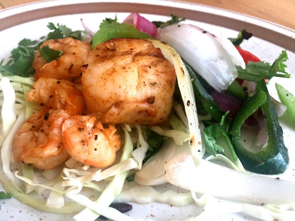 Seafood Fajita Salad