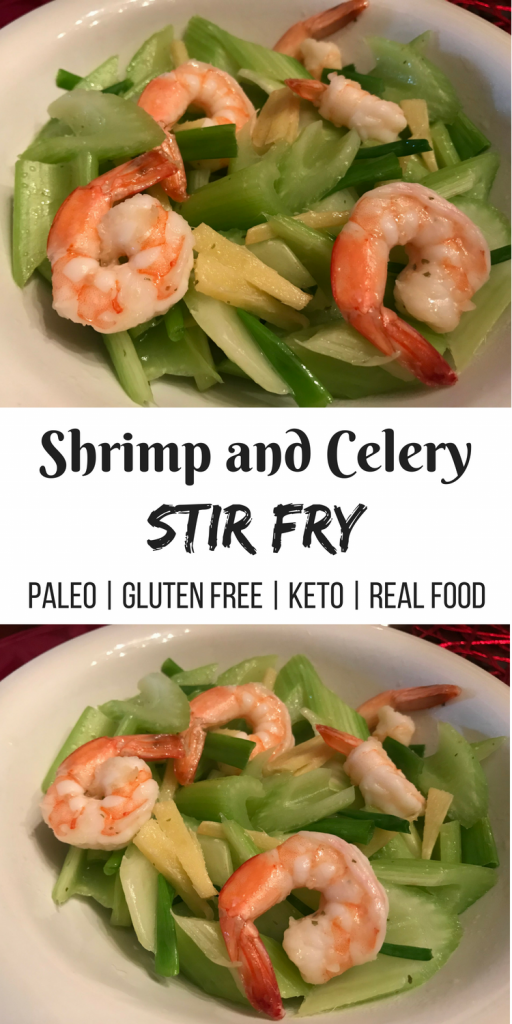 Shrimp and Celery Stir Fry