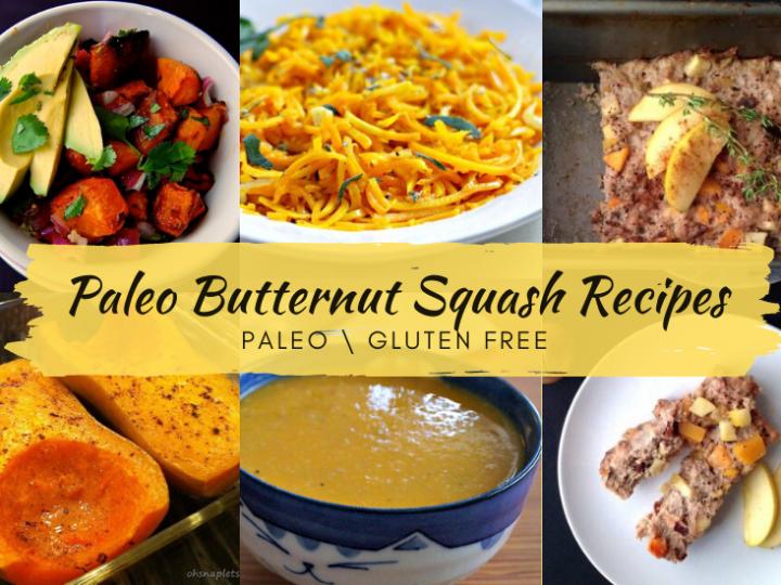 Paleo Butternut Squash Recipes