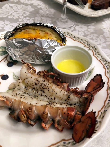 Easy Buttery Broiled Lobster Tails