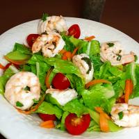 Shrimp Salad with Lemon Poppyseed Dressing