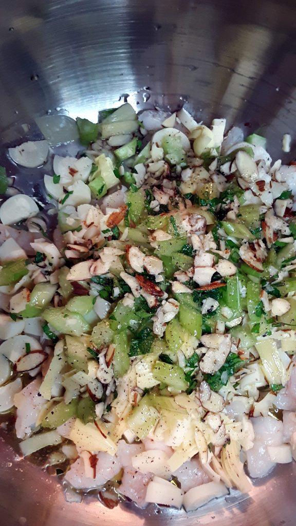 Simple Marinated Cold Shrimp Salad