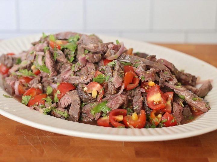 Thai Beef Salad (Keto, Paleo, Gluten Free)