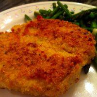 Paleo Almond Crusted Pork Loin Chops