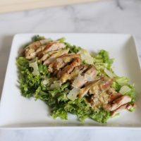 Keto Chicken Caesar Salad
