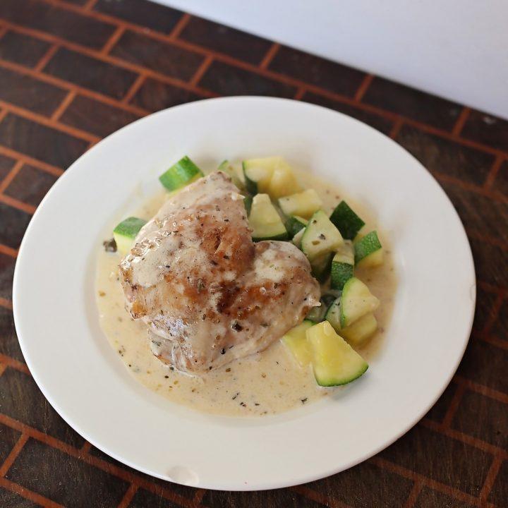 Keto Lemon Caper Chicken