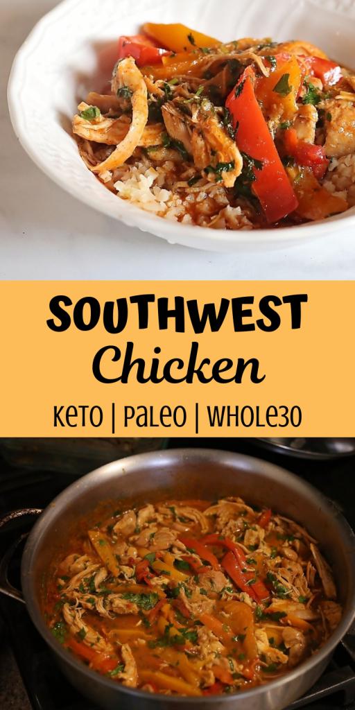 Keto Southwest Chicken