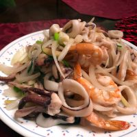 Chinese Seafood Stir Fry
