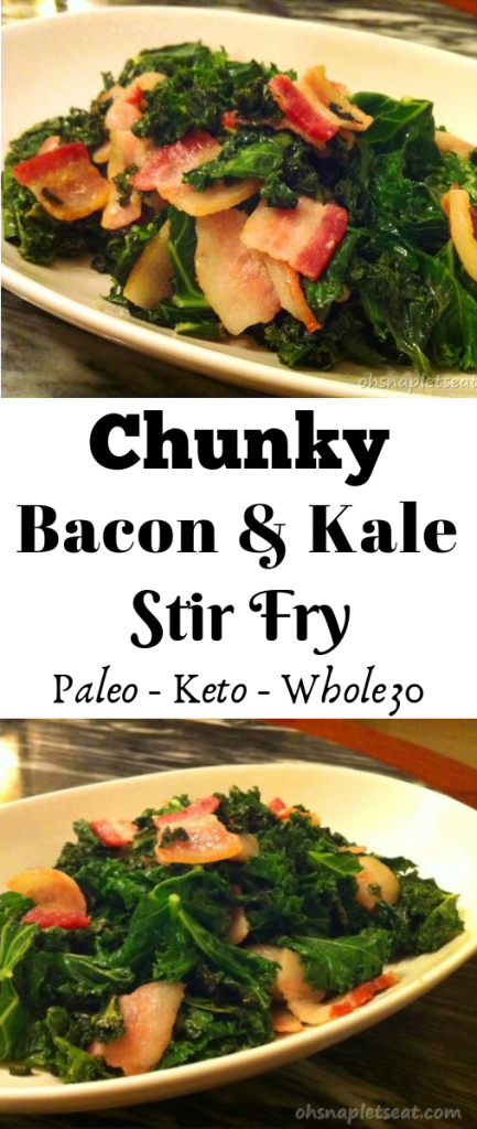 Bacon and Kale Stir Fry