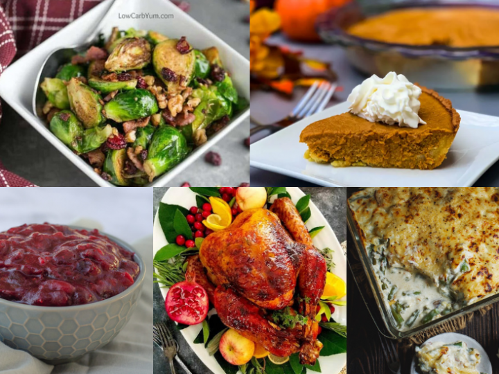 60+ Low Carb and Keto Thanksgiving Recipes