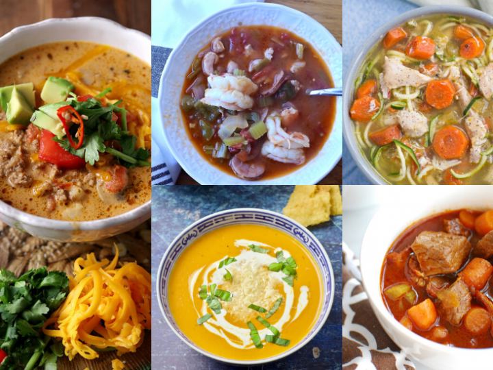 60+ Low Carb and Keto Soup Recipes