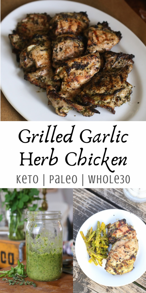 Grilled Garlic Herb Chicken