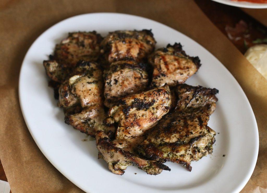 Grilled Garlic Herb Chicken