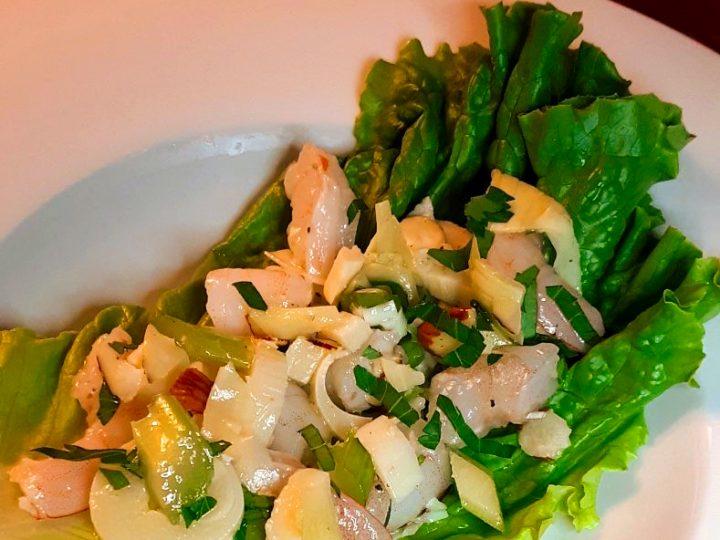 Simple Marinated Shrimp Salad