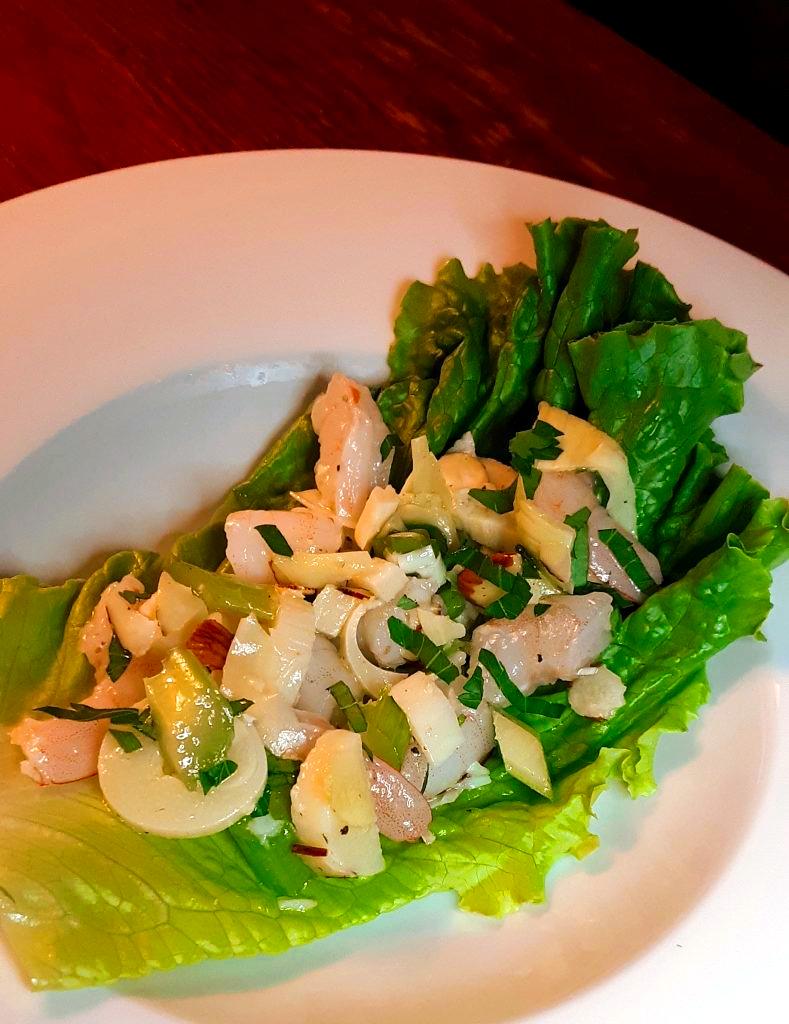 Simple Marinated Shrimp Salad (Paleo, Keto, Whole30)