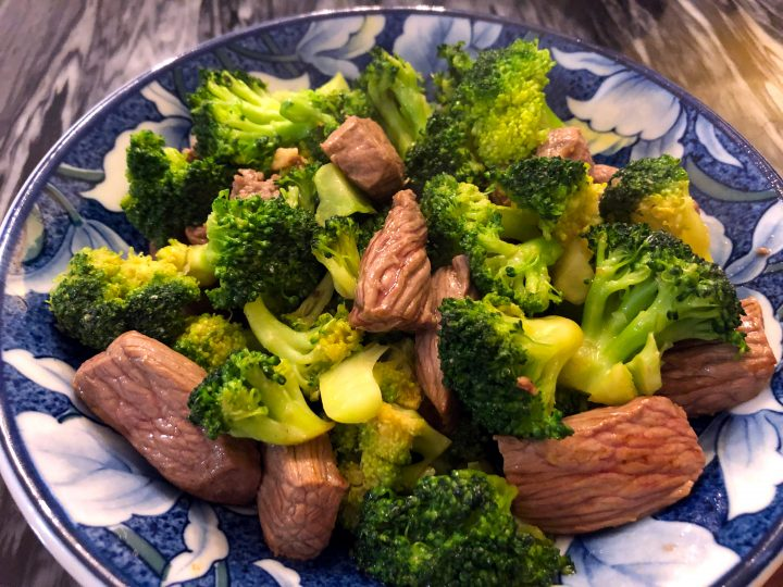 Broccoli with Beef Stir Fry
