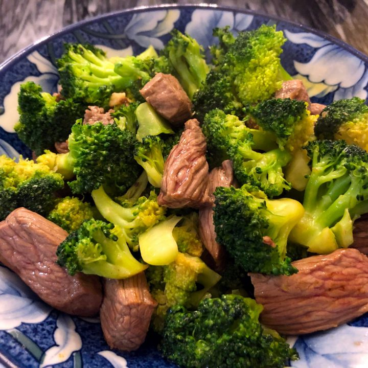 Easy Broccoli Beef Stir Fry