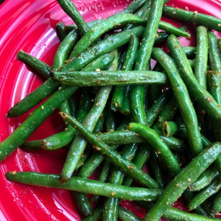 Sauteed Garlic Butter Green Beans