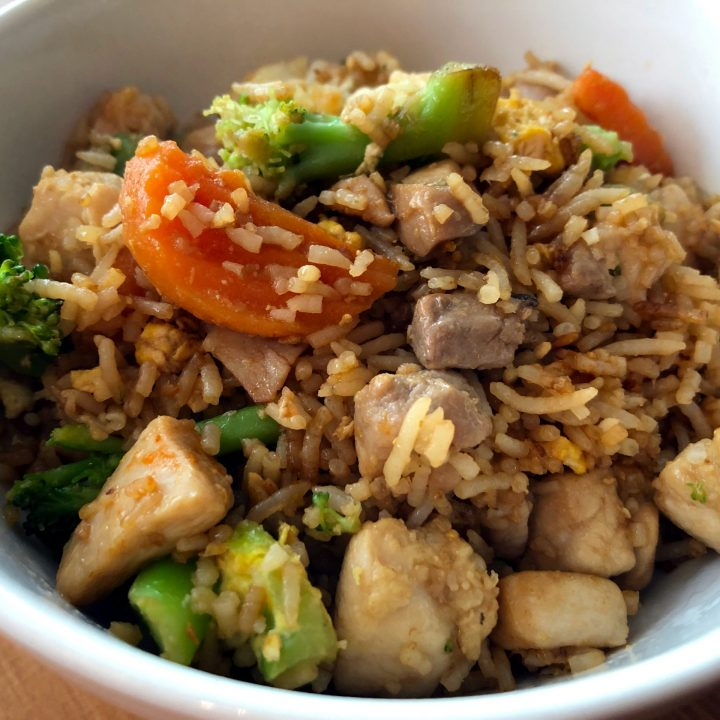 Easiest Fried Rice Ever