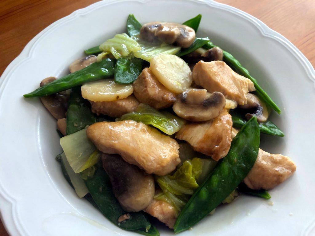 Moo Goo Gai Pan 蘑菇雞片