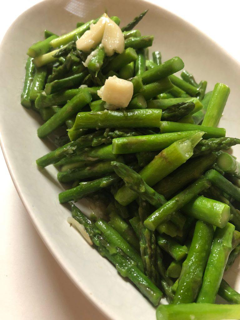 Stir Fry Asparagus with Garlic