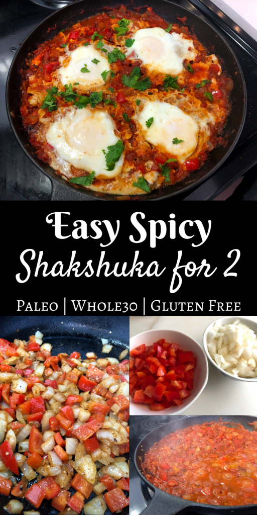 Easy Spicy Shakshuka for Two