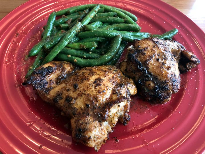 Easy Spicy Garlic Lime Chicken