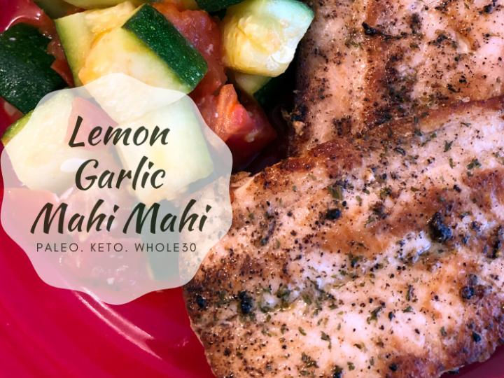 Garlic Lemon Mahi Mahi