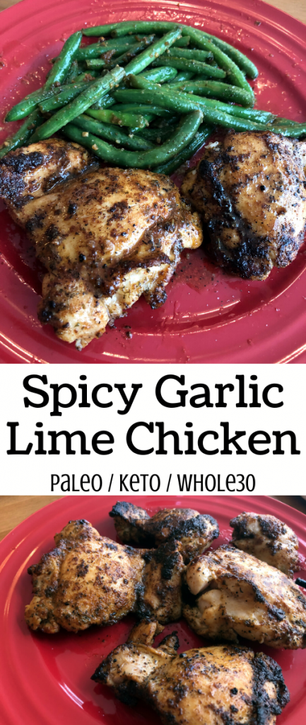Easy Spicy Garlic Lime Chicken
