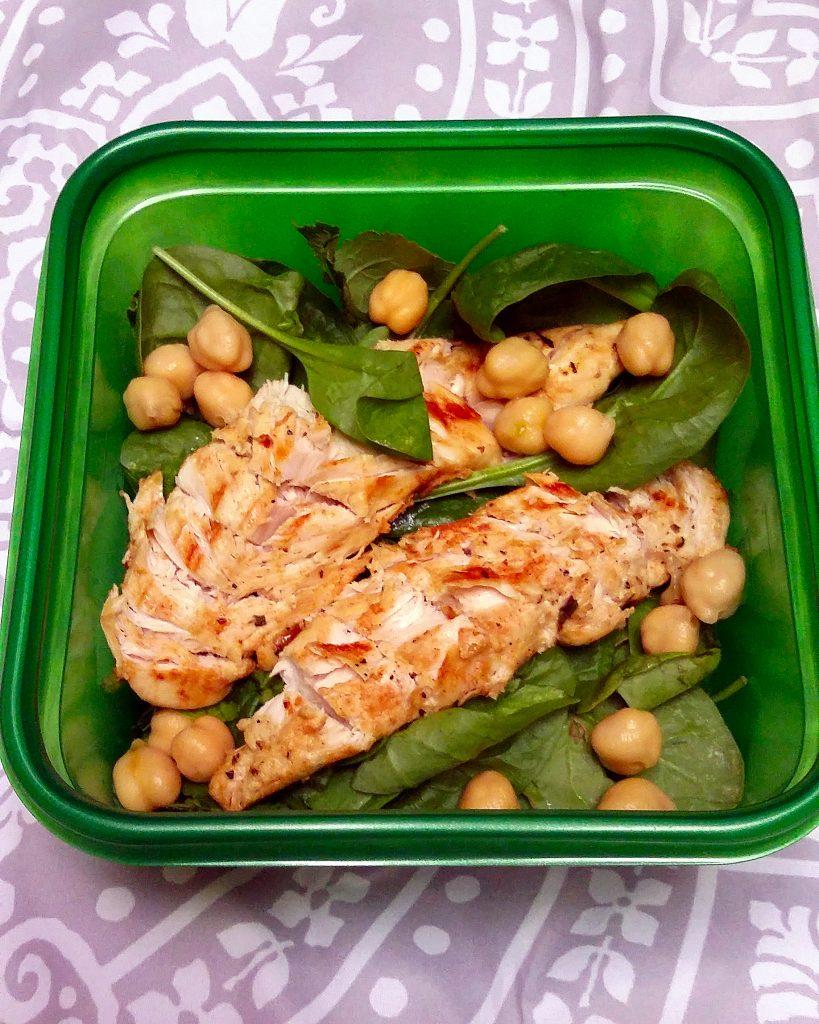 Greek Chicken Salad with Tzatziki Dressing