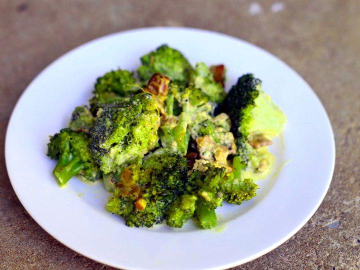Broccoli Salad with Bacon Recipe (keto, gluten free)