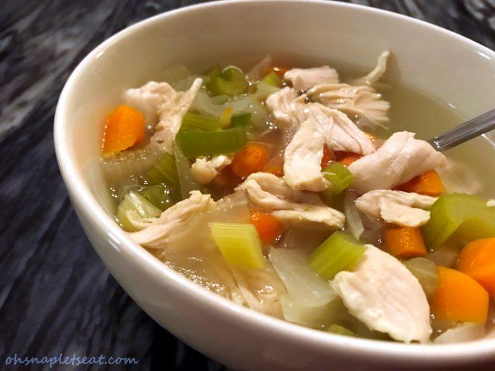 Easy Paleo Chicken Soup