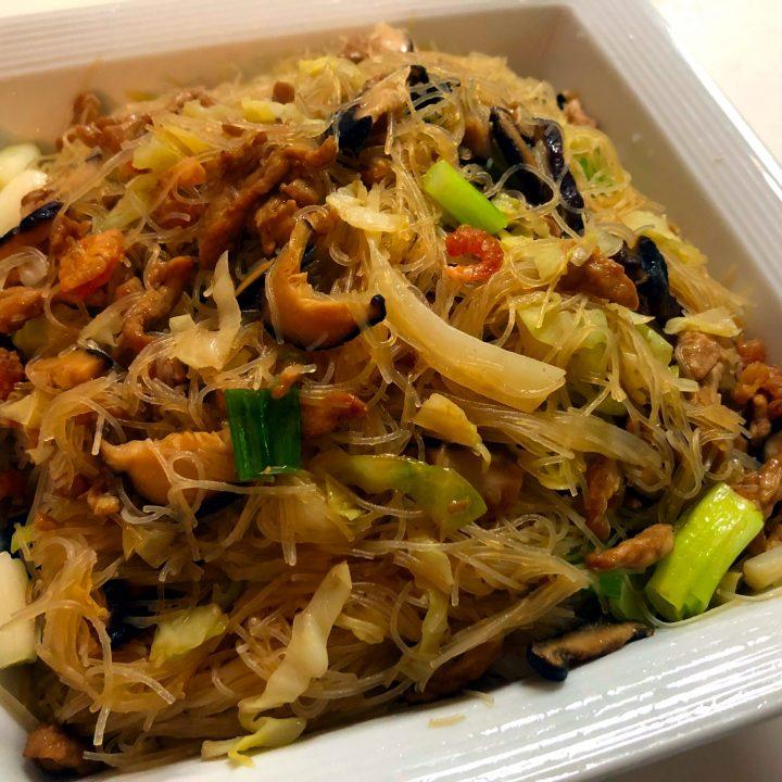 Taiwan Rice Noodles Stir Fry 炒米粉