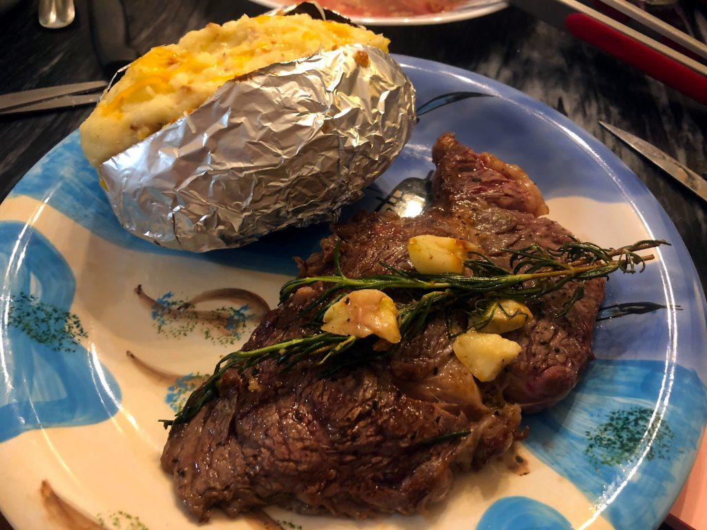 Pan Seared Garlic Butter Rosemary Ribeye