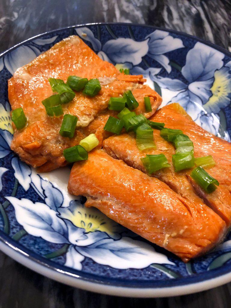 Pan Seared Miso Salmon