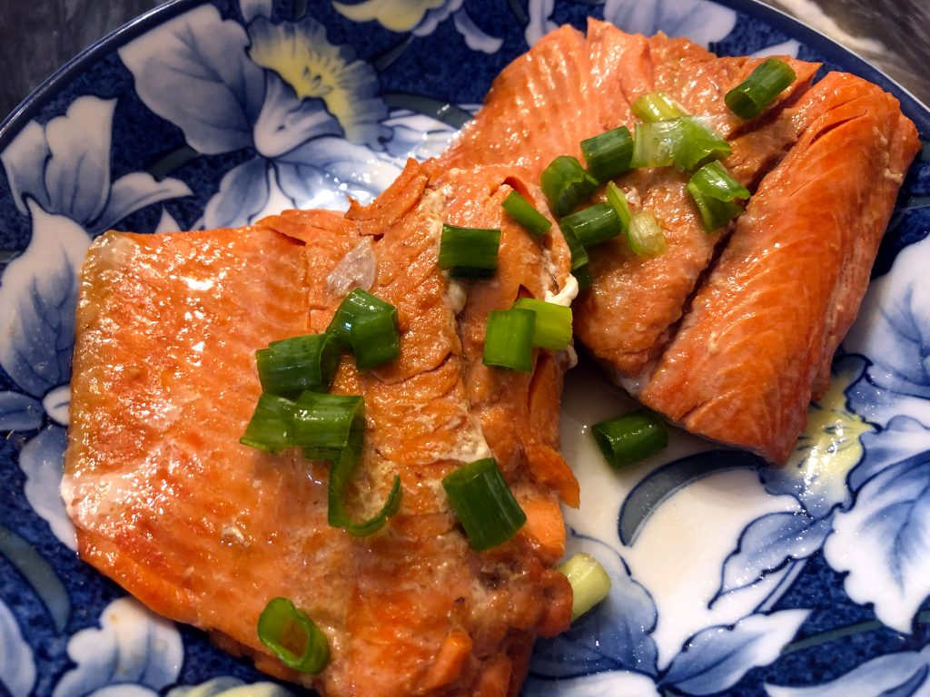 Pan Seared Miso Salmon