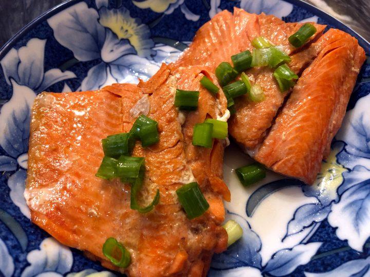 Pan Fried Miso Salmon