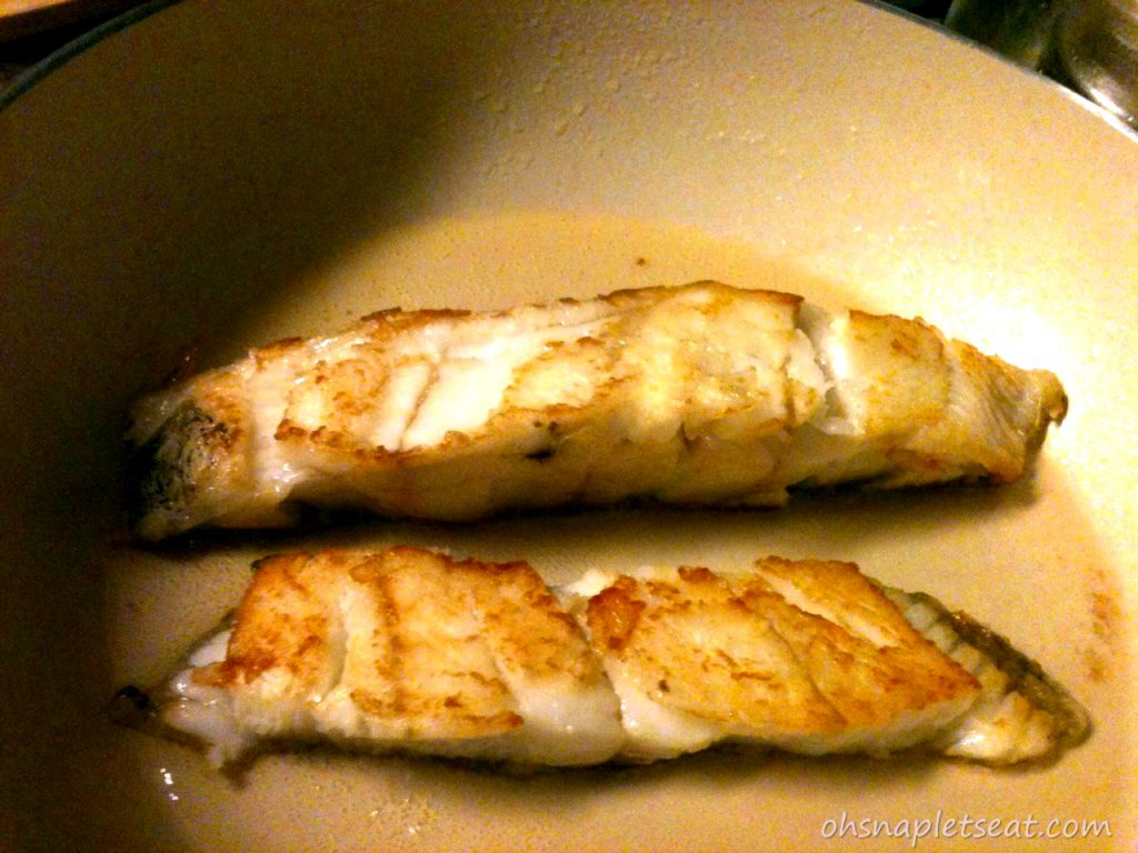 gluten free pan seared cod