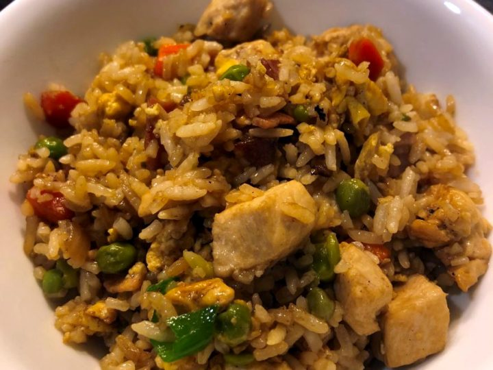 Chicken Chinese Fried Rice Recipe