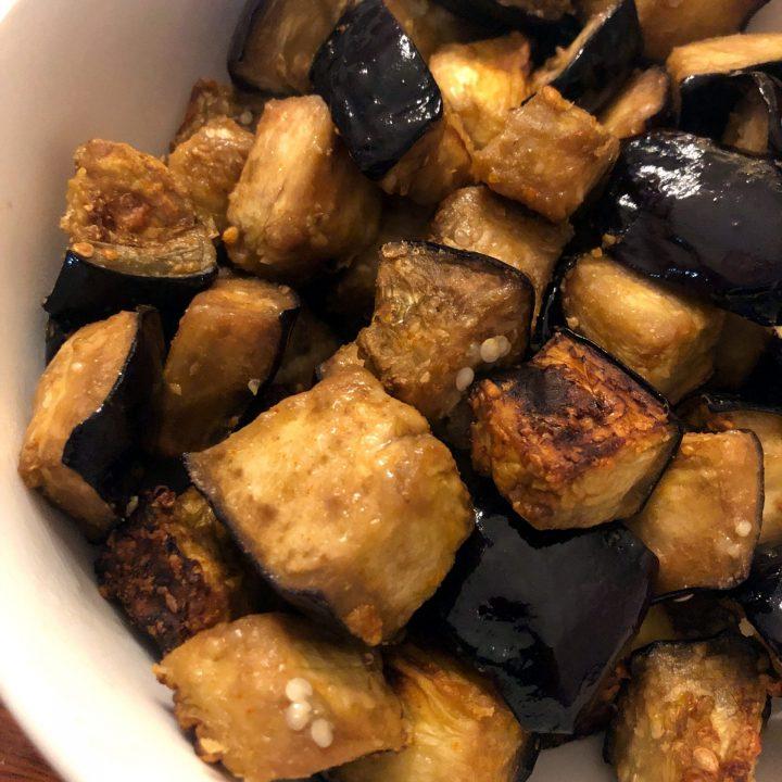 Airy Fryer Eggplants