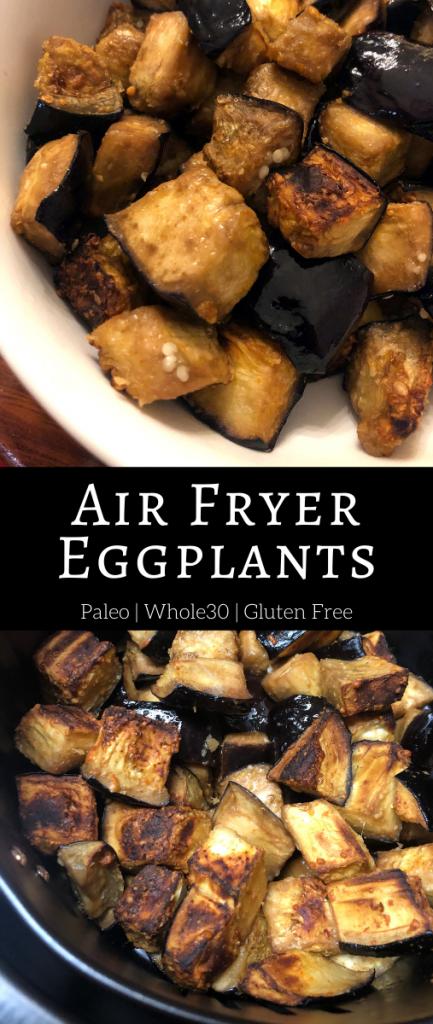 Air Fryer Eggplants
