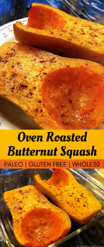 Oven Roasted Whole Butternut Squash