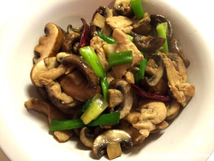 Chicken Portobello Mushrooms Stir Fry