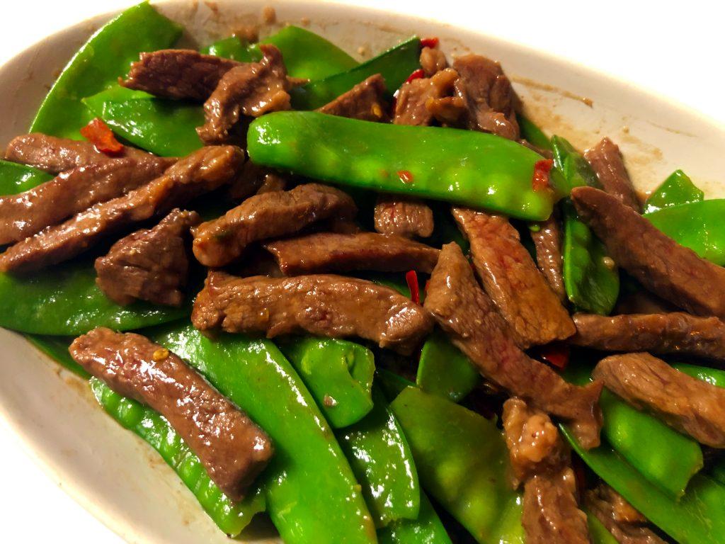 Snow Peas Beef Stir Fry