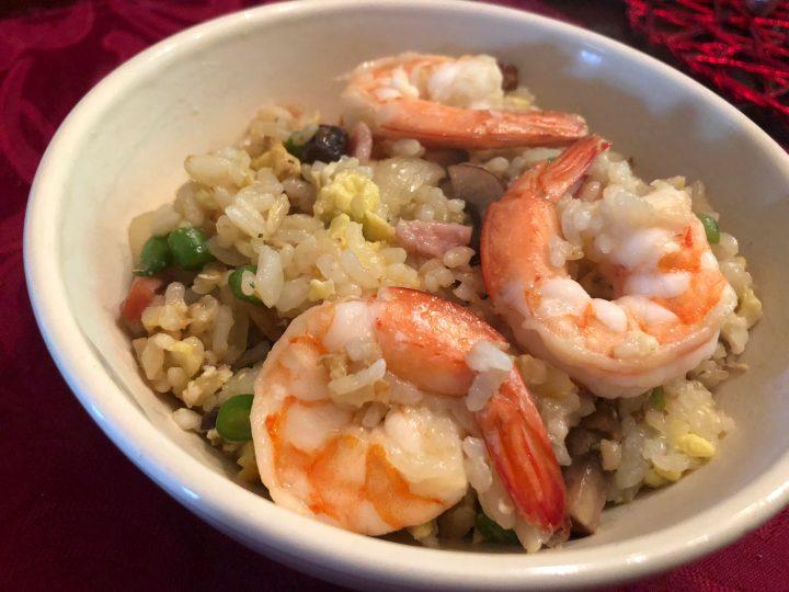 Easy Chinese Shrimp Fried Rice