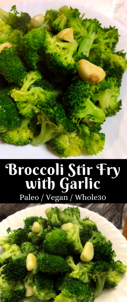 broccoli stir fry with garlic
