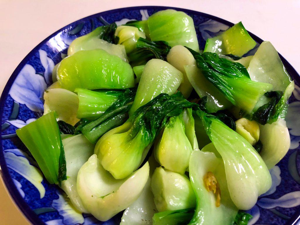 Shanghai Bok Choy Stir Fry with Garlic