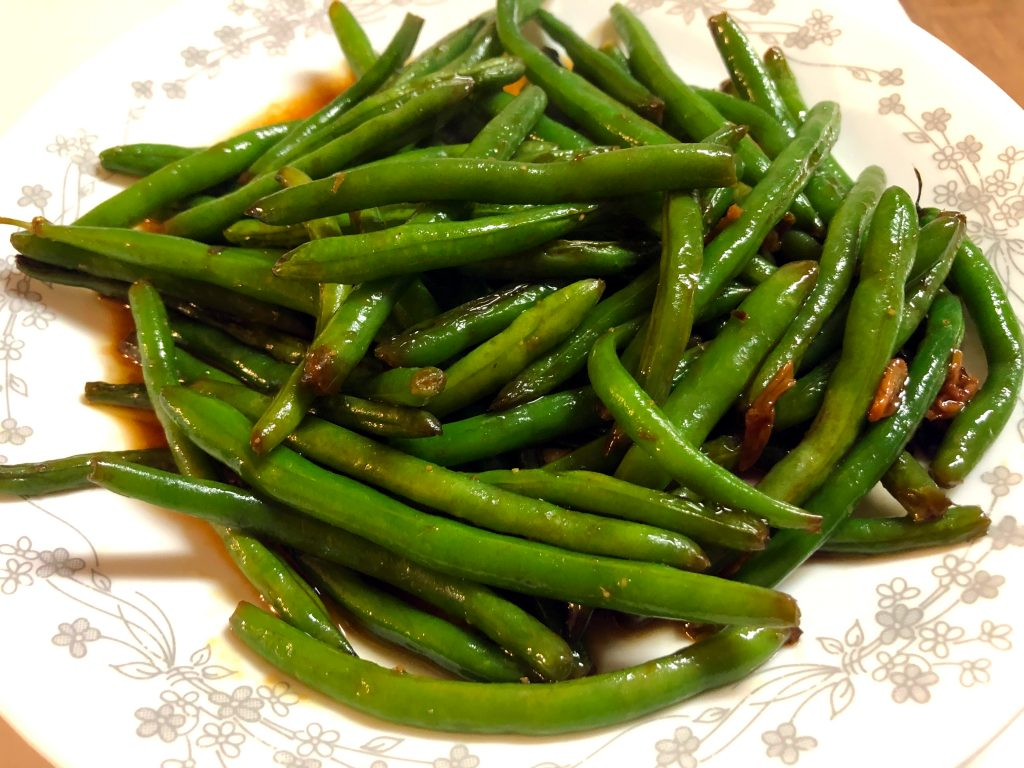 Chinese Green Beans Stir Fry