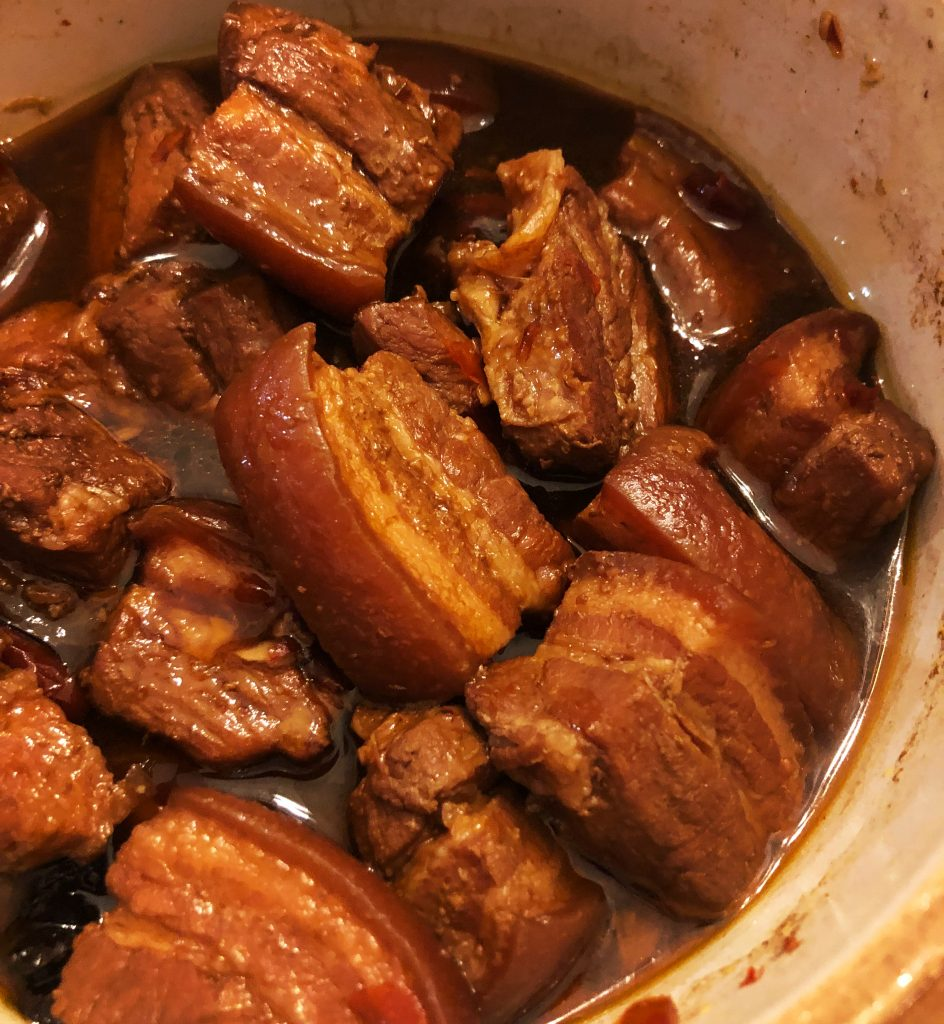 Chinese Pork Belly Recipe - Red Braised Pork Belly